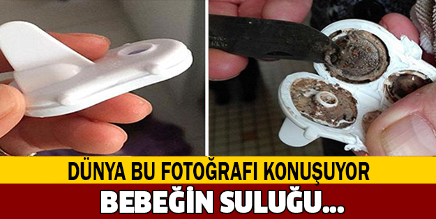 BEBEĞİNİN SULUĞUNU GÖREN BABA ŞOK OLDU!... DÜNYA BU OLAYI KONUŞUYOR!