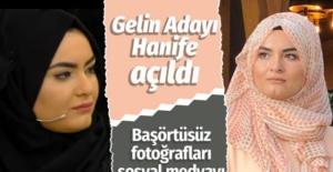 Gelin adayı Hanife Gürdal açıldı başörtüsüz fotoğrafı sosyal medyayı salladı