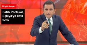 Fatih Portakal, Reytinglerde Eşkıya Hükümdar Olmaz'a Kafa Tuttu