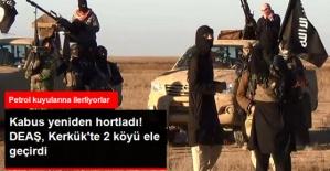 Irak Ordusunun Operasyonundan Yararlanan DEAŞ Kerkük'te 2 Köyü Ele Geçirdi