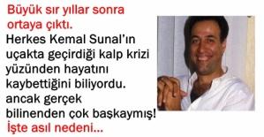 Yeşilçam'ın efsane oyuncusu Kemal Sunal'ın ölümü hiçte sandığımız gibi değilmiş. Büyük sır yıllar sonra ortaya çıktı.