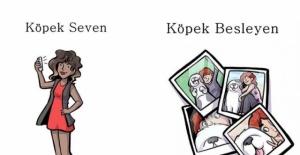 Köpek Seven ve Köpek Besleyen İnsanların Arasındaki Farkları Bize Komik Bir Şekilde Anlatan 7 Görsel