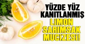 Yüzde Yüz Kanıtlanmış Limon Suyu Sarımsak Kürü Mucizesi