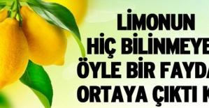 Limonun Faydaları saymakla Bitmiyor