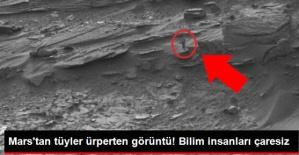 MARS'IN ESRARENGİZ FOTOĞRAFLARI KAFALARI KARIŞTIRDI