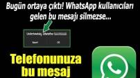 Telefonunuza bu mesaj gelirse dikkat!