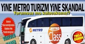Metro Turizm'den bir skandal daha! GECE YARISI BAKIN O İKRAM ETTİKLERİ İLE VATANDAŞA NE YEDİRMİŞLER !