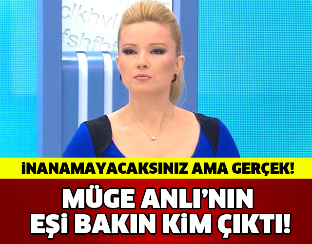 MÜGE ANLI'NIN EŞİ BAKIN KİM ÇIKTI..! İNANAMAYACAKSINIZ AMA GERÇEK!