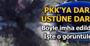 PKK'ya darbe üstüne darbe! Böyle imha edildiler...