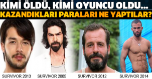 SURVIVOR BİRİNCİLERİ KAZANDIĞI PARAYI NE YAPTI? KİMİ ÖLDÜ KİMİ OYUNCU OLDU!