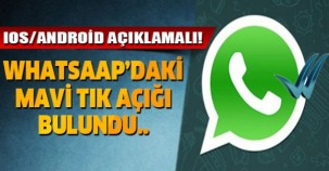 WhatsApp'ta mavi tik olmadan mesaj okumanın yolu!