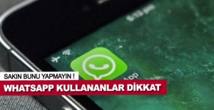 Whatsapp'ı sakın böyle kapatmayın,