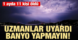 Uzmanlar Uyardı: Banyo Yapmayın!