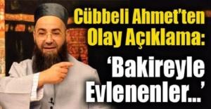 Cübbeli Ahmet Hocadan Olay Açıklama! Bakireyle Evlenenler...
