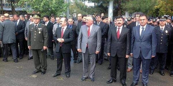 10 Kasim'da Şehitdüşen 13 Kişilik Jandarma Timine Ziyaret