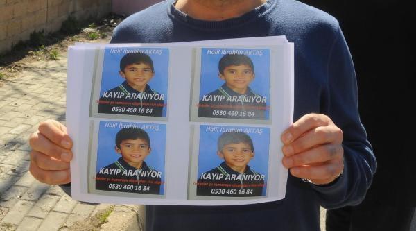 10 Yaşındaki Halil'den Haber Alınamıyor
