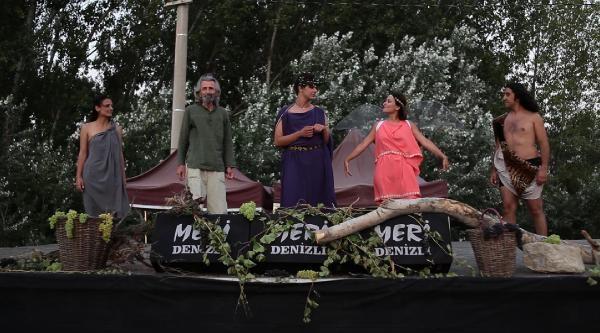 '10'uncu Köy Teyatora' Seyirciyle Buluşacak