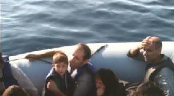 116 Kaçak Yunan Adalarına Geçmeye Çalişirken Yakalandı