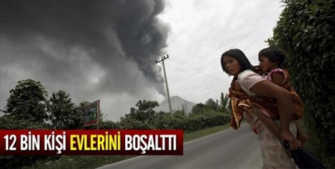 12 bin kişi evlerini boşalttı!