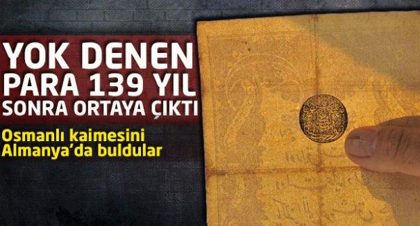 139 yıl sonra ortaya çıktı