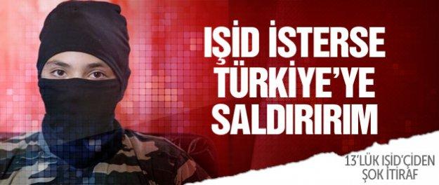 13 yaşındaki IŞİD'çiden kan donduran Türkiye itirafı!