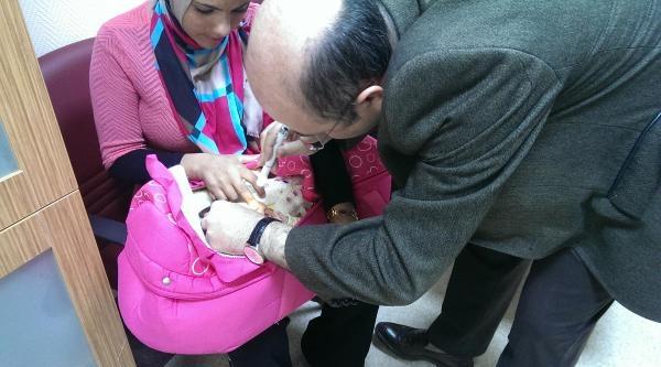 1,5 Aylık Bebeğe Katarakt Ameliyatı