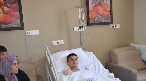 15 Yaşındaki Mehmet, Kalp Masajıyla Hayata Döndürüldü