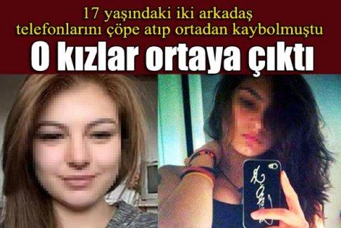 17 yaşındaki iki kız, İstanbul'da bulundu