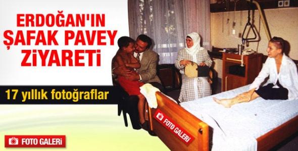 17 yıllık fotoğraflar...Erdoğan ve Pavey'in o fotoğrafları!