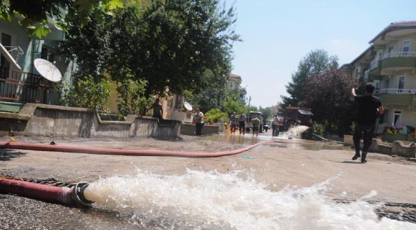 190 Kilo Yağış, Uzunköprü Ve Köyleri Felç Etti