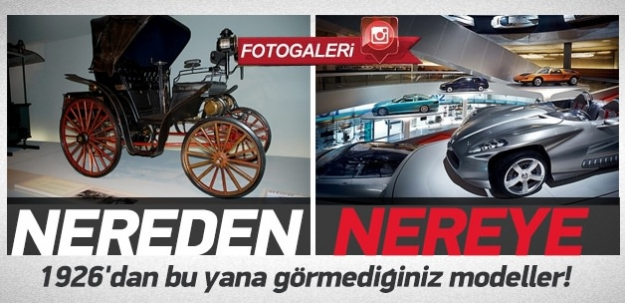 1926'dan bu yana 160 Mercedes