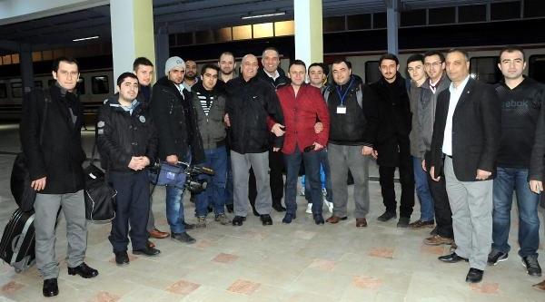 196 Genç Samsun'dan Trenle Sarikamiş'a Gitti