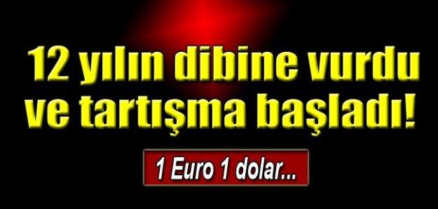 1 Euro 1 dolar olur mu?