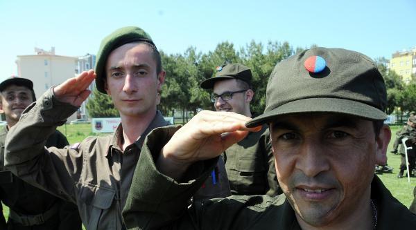 1 Günlüğüne Asker Oldular