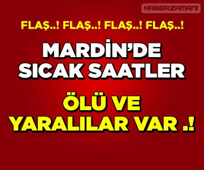 Mardin Karıştı 1 ölü 6 yaralı