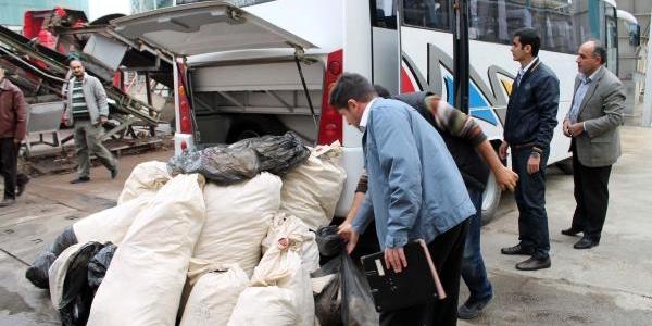 200 Kilo Esrar Fabrikada Yakilarak Imha Edildi