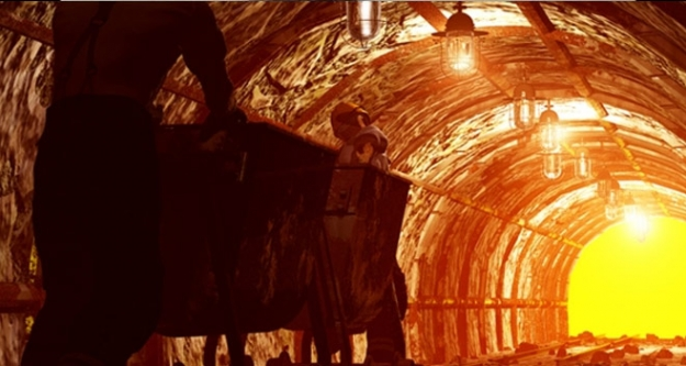 200 madenci göçük altında!