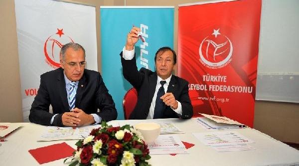 2013-2014 Voleybol Sezonu Teledünya Türkiye Kupasi Çeyrek Final Kuralari Çekildi