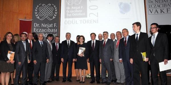 2013 Dr. Nejat F. Eczacibaşi Tip Ödülleri Sahiplerini Buldu