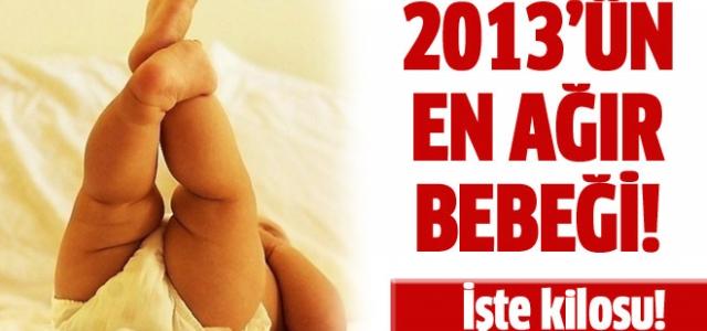 2013'ün en ağır bebeği