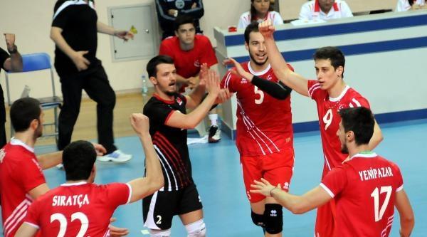 2014 Cev Erkekler Voleybol Avrupa Ligi Türkiye - Avusturya Fotoğrafları