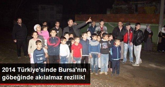 2014 Türkiye'sinde Bursa'nın göbeğinde akılalmaz rezillik!
