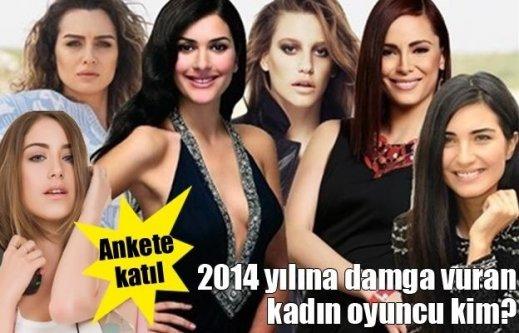 2014 yılına damga vuran kadın oyuncu kim?