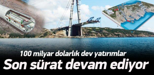 100 milyar dolarlık dev yatırımlar tam gaz