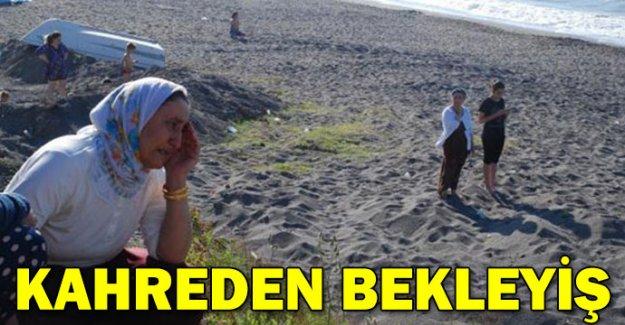 15 yaşındaki Ahmet'i dalgalar aldı