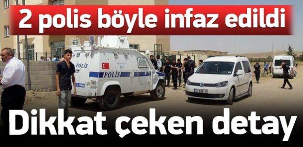 2 polis böyle şehit edildi