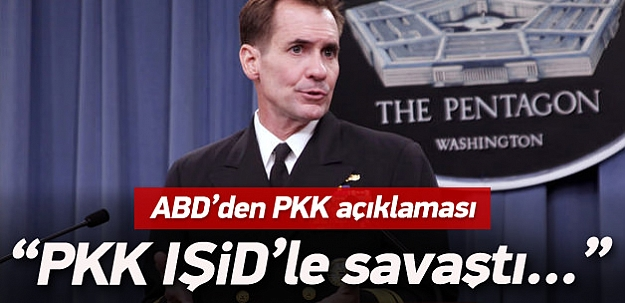 ABD'den kritik PKK açıklaması