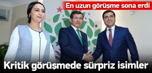 Ak Parti-HDP görüşmesi sona erdi