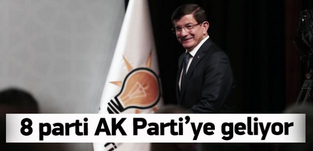 AK Parti ile bayramlaşacak 8 parti