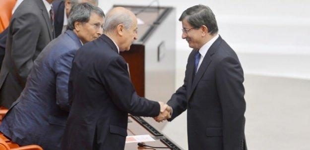 AK Parti MHP görüşmesi başladı